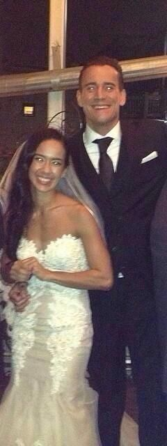 "April Jeannette Mendez-Brooks and Phillip ""Phil"" Jack Brooks leaked photo from Wedding Day <3"
