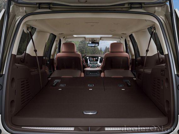 Багажный отсек Шевроле Сабурбан 2015 / Chevrolet Suburban 2015