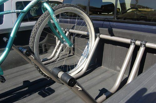 Amazon Com Truck Bed Bike Rack Holds 3 Bikes Bike