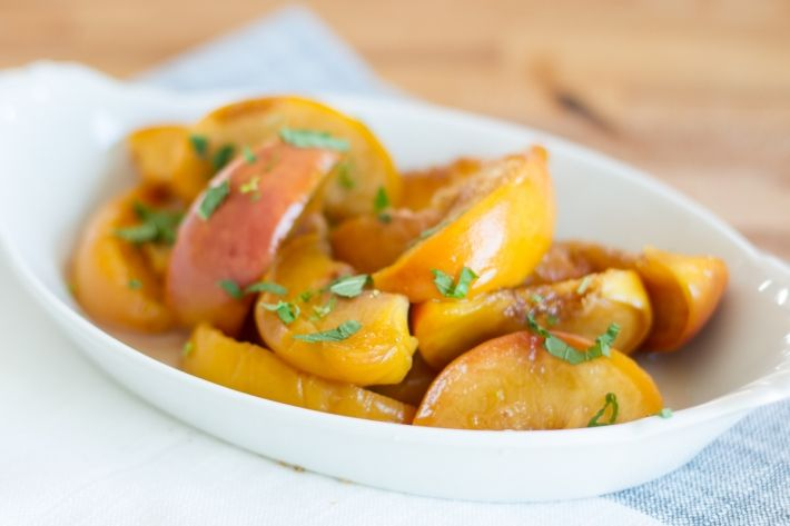 These sous vide whiskey-poached peaches are a perfect summer treat ...