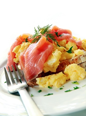 Paleo Scrambled Eggs and Lox Recipe