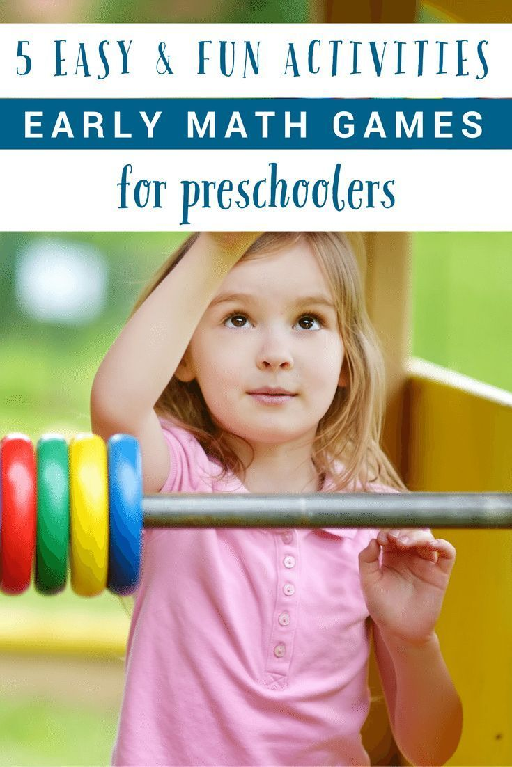 508 Best Math Activities For Preschool And Kindergarten
