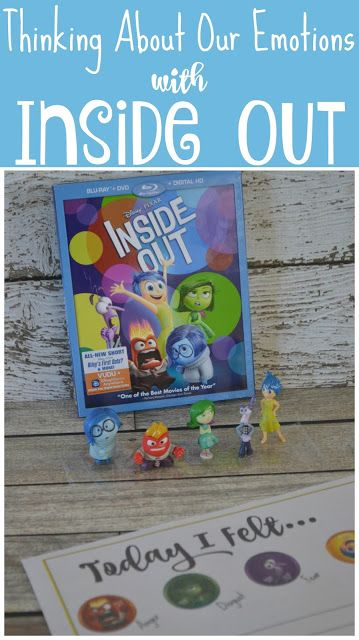 Thinking About Our Emotions with Inside Out {Free Printable}, Thinking About Our…