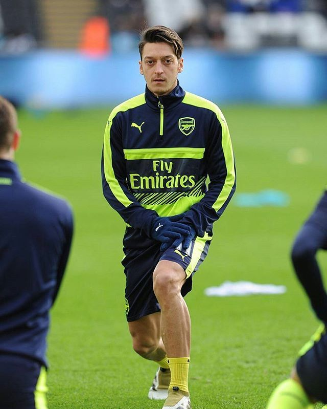 Ozil got the assist 😍 he Ozil assisted yay 😎 Sorry for late i wasn't sure 😍😘 what a great performance baby, you were good on the first half but Ramsey is shit love you @m10_official