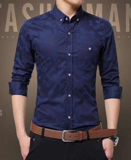 9f3d8503 Fashion Casual Men Shirt Long Sleeve Dress Shirts #Fashion #Casual #Men # Shirt #Long #Sleeve #Dress #Shirts #Men Hot Sale New Fashion Casual Men  Shirt Long ...