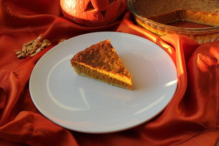 Pumpkin Pie Placek dyniowy #słodkości #smakołyk #deser #przepisy #energia #ciasto #dynia #imbir #cynamon #POLOmarket
