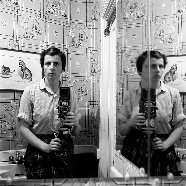 Mysterious Street Photographer Vivian Maier's Self-Portraits | Brain Pickings