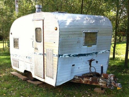 1960 nomad travel trailer tct classifieds for sale pinterest vintage trailers. Black Bedroom Furniture Sets. Home Design Ideas