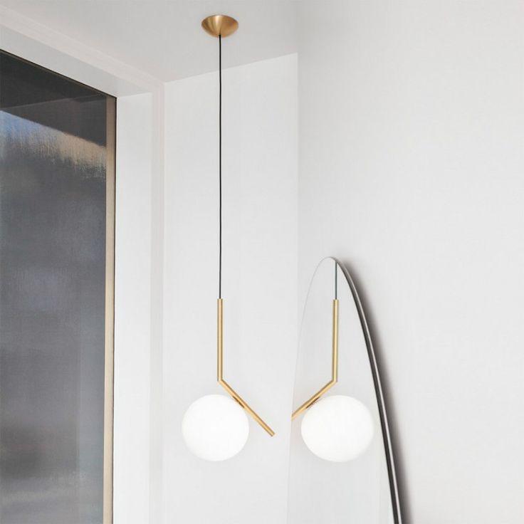 Пост современный простой молочно белый стеклянный шар утюг led e27 подвесной светильник для столовой гостиная бар dia 20 см 1146купить в магазине Y3 lighting StoreнаAliExpress