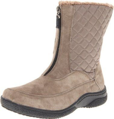 Propet Women's Alta Mid Zip Boot   Great soles, great uppers and nice, snuggy inside.