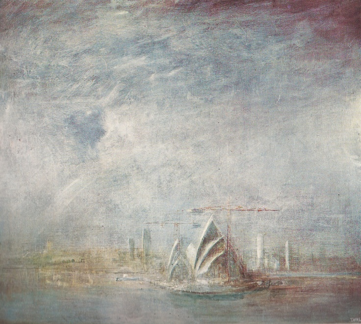 The Opera House 1969 by Sir William Dobell