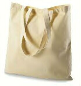 Canvas TOTE BAG - only $0.88 each and we can stamp the I <3 NY or wedding monogram on them for gift bags
