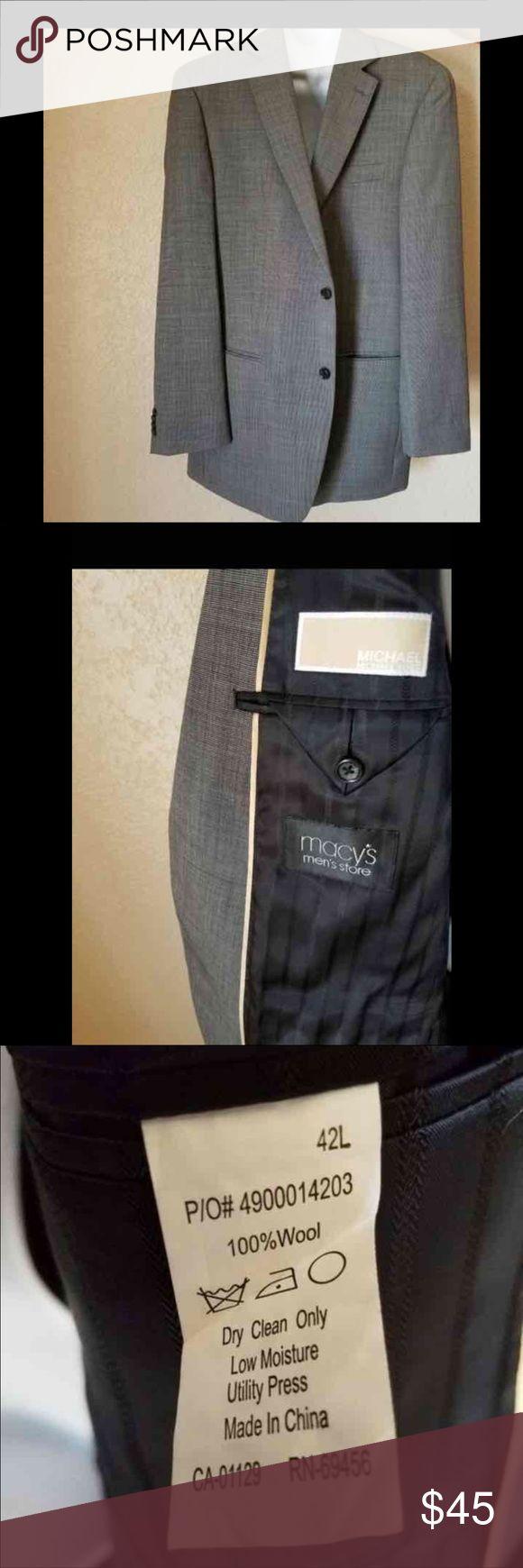 Michael kors Men jacket Mi mans sport/suit jacket. In excellent condition . Size 42L Michael Kors Jackets & Coats