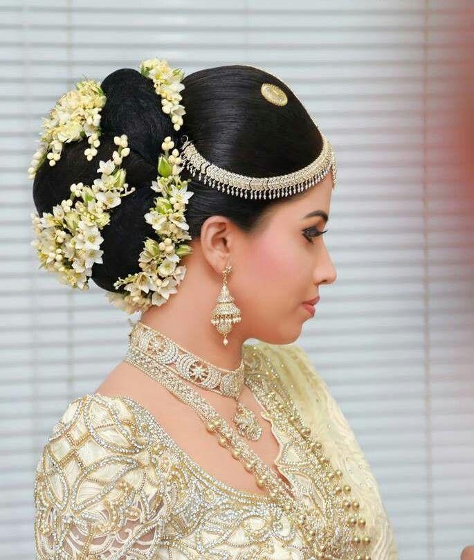 Hairstyle For Bride On Saree: Pin By Yashodara Rathnathilaka On Kandyan Brides