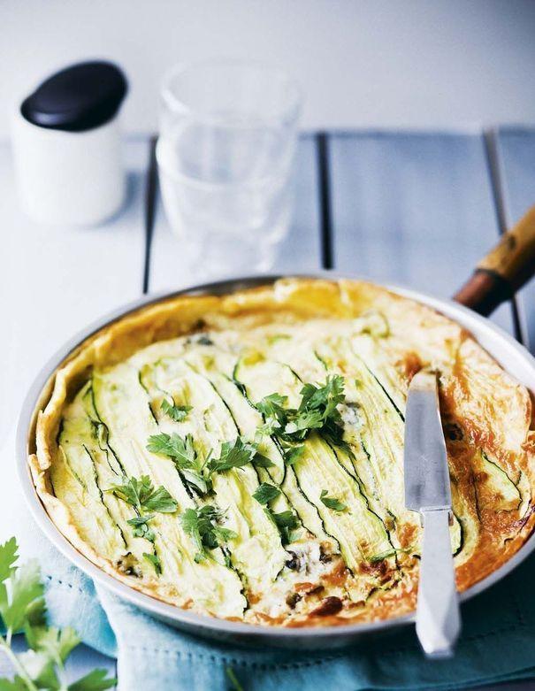 Tarte aux courgettes et au gorgonzola (à la poêle) http://www.pinterest.com/source/lexpress.fr/