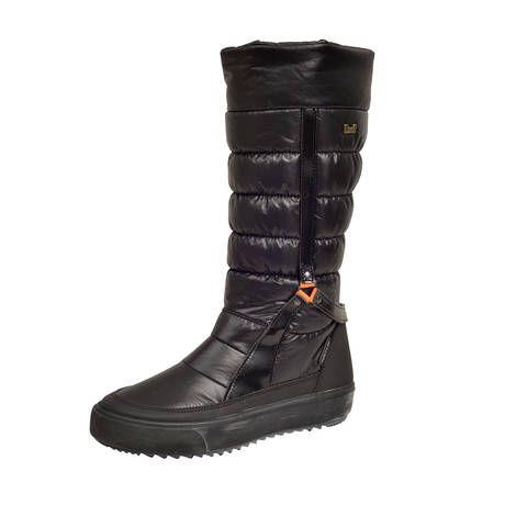 Halti Tessera DX W -talvijalkineissa on pitävä TR-kuminen ulkopohja ja lämmin tekstiilivuori. (129,95€) #Halti #Snowboot #Winterboots