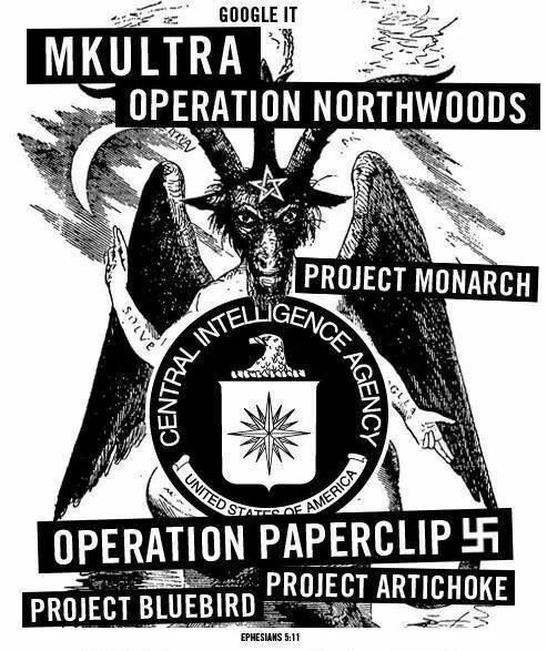 ❥ MK Ultra, Operation Northwoods, Project Monarch, Operation Paperclip, Project Bluebird, Project Artichoke~ GOOGLE IT. Ephesians 6:12, Ephesians 5:11