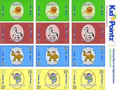 Printable behavior bucks bing images for Classroom bucks template