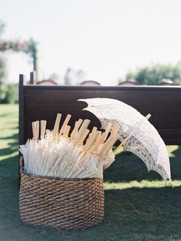 rustic wedding ceremony idea; Photo: Carmen Santorelli