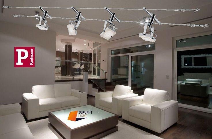 PAULMANN LED SEILSYSTEM META 4x5WATT 230V/12V MIT NEUSTER LED TECHNIK * NEW *