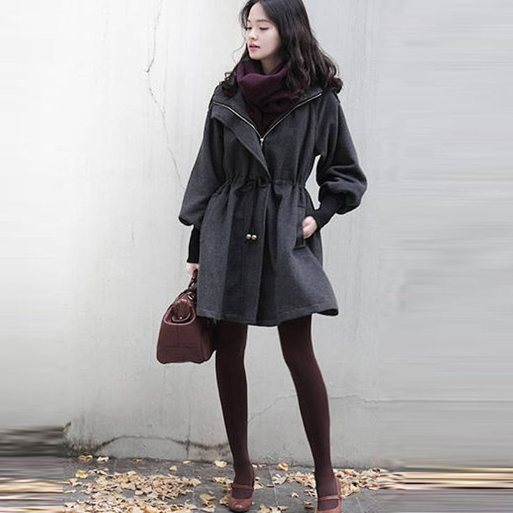 Manteau d'hiver  à double boutonnage Slim design