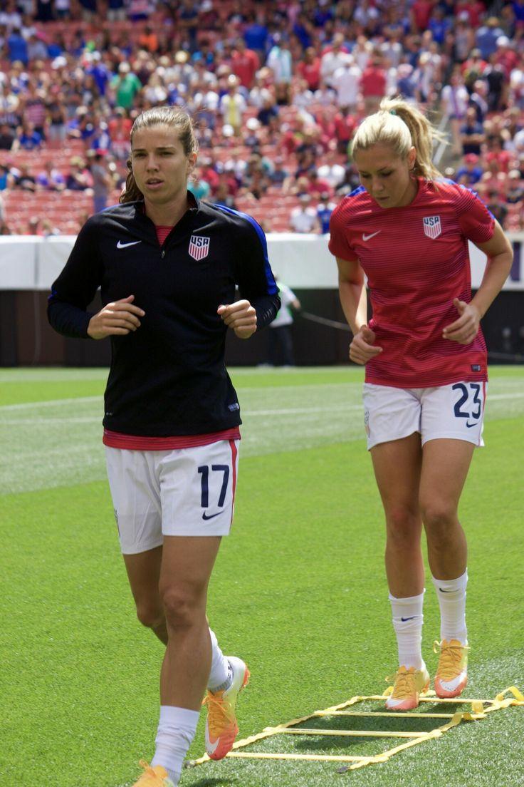 Tobin Heath  Allie Long 062016  Usa Soccer Team, Female -7680