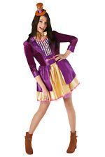Rubies Womens Willy Wonka Chocolate Factory World Book Day Fancy Dress Costume