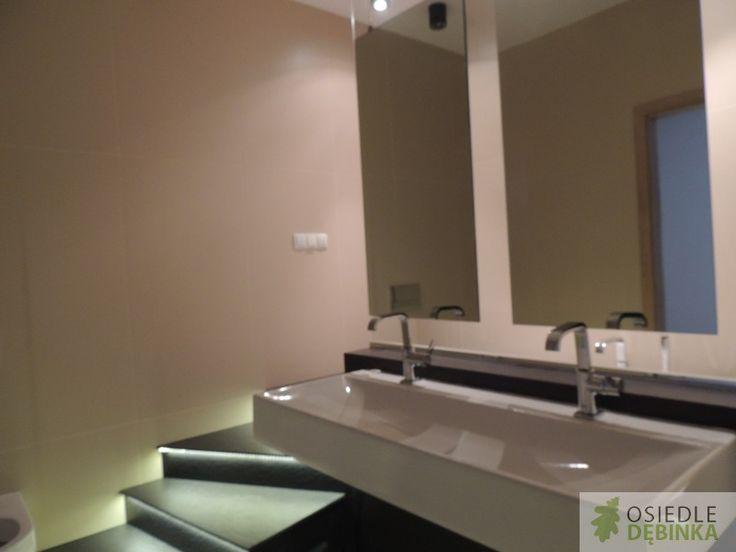 Nowoczesna łazienka – Osiedle Dębinka – https://www.facebook.com/pages/Osiedle-D%C4%99binka/386469951518141
