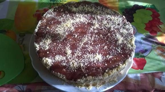 Мандариновый торт - Кулинарные рецепты от Веселого Жирафа