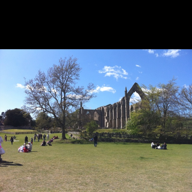 Bolton Abbey in the sunshine