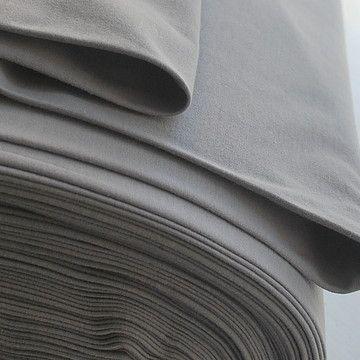 Cotton Jersey - Pale Grey