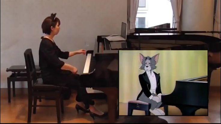 """【映像付コンサート】トムとジェリー「ピアノ・コンサート」 Tom and Jerry """"The Cat Concerto"""" - YouTube"""