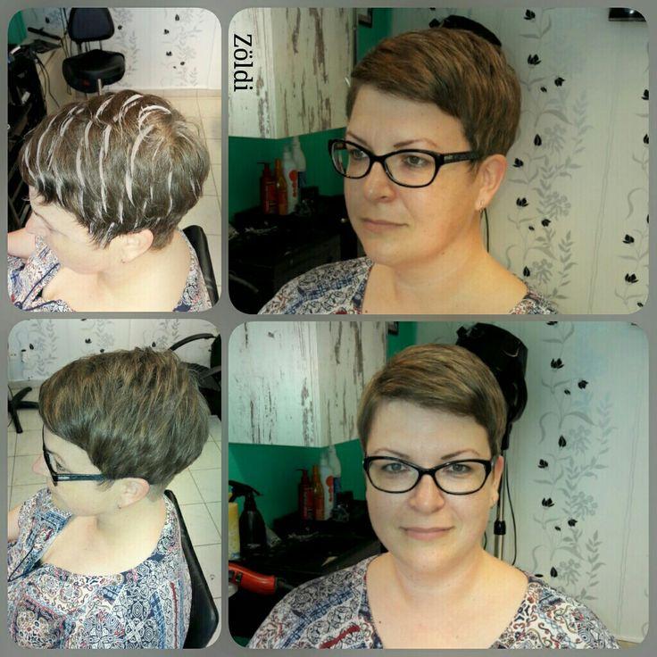 #zöldiszilvia #mywork #munkám #haircut #hajvágás #hajfestés #haircolor #melír