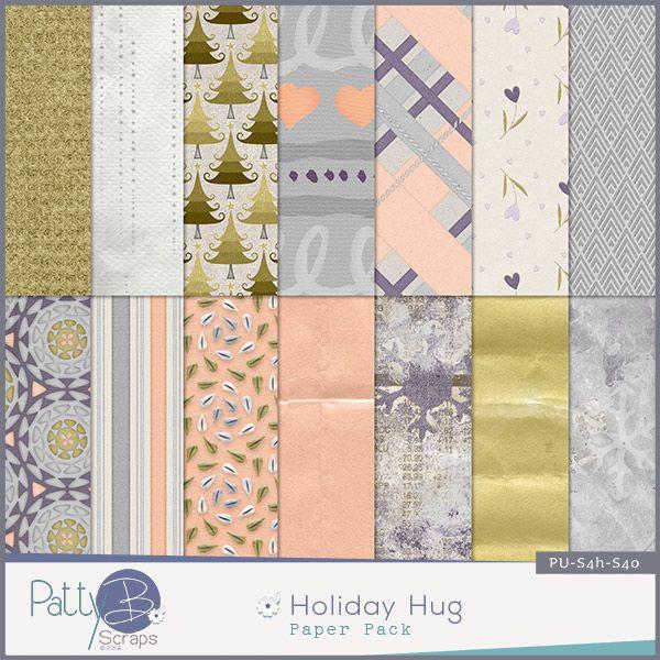 Holiday Hug Papers