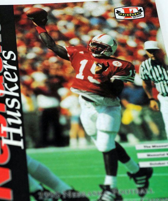 Nebraska Football Game Program 1995 Nebraska v Missouri #113B