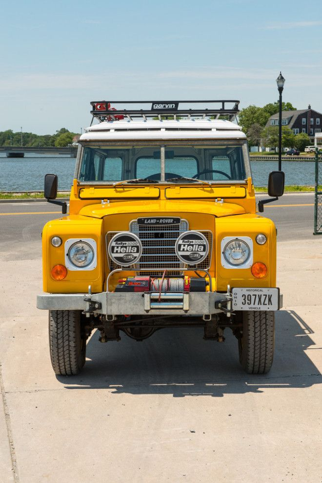 This 1972 Land Rover 88 Series III = Perfect Adventuremobile