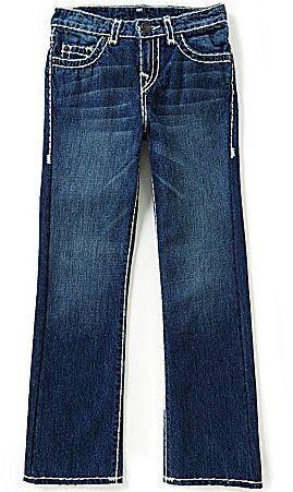 True Religion Big Boys 8-20 Ricky Straight-Fit Jeans