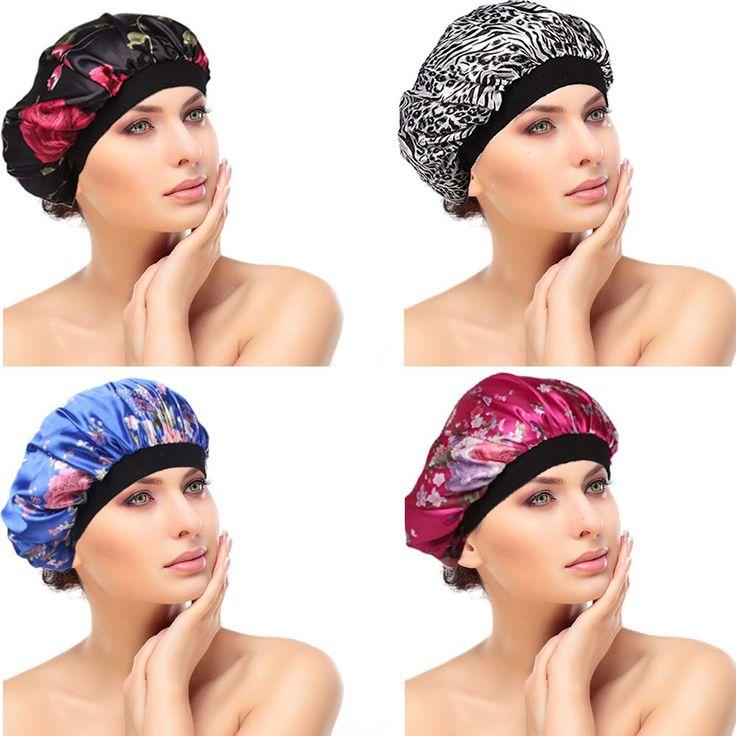 BEROSS 4PACK Soft Satin Hair for Women Girls Silk