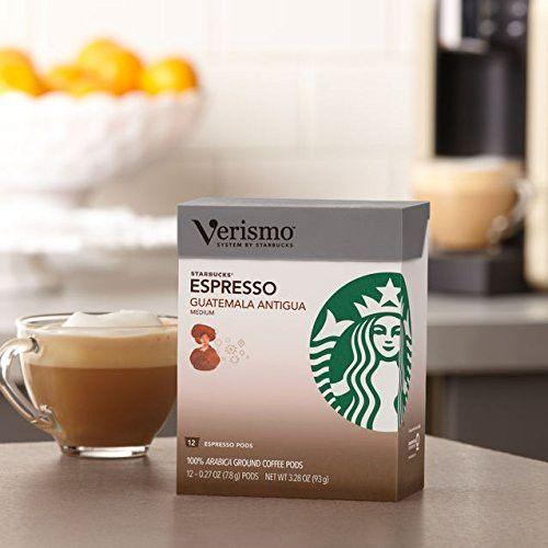 Starbucks Guatemala Antigua Espresso Verismo Pods - 96ct ...