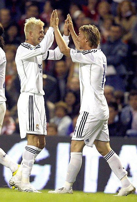 Beckham and Guti