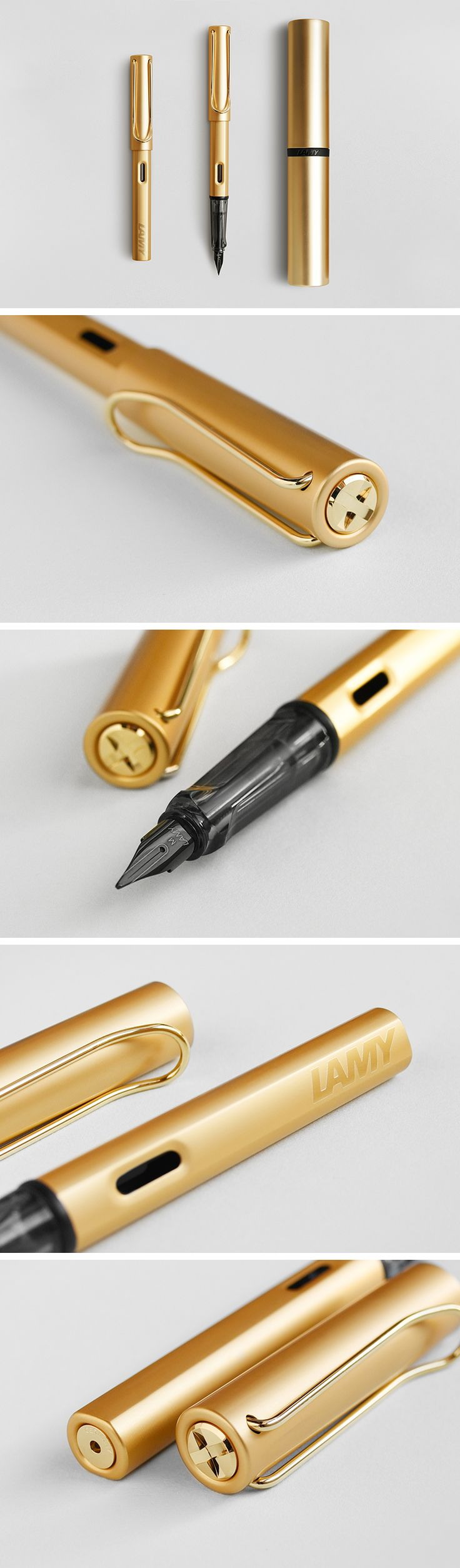 They're here! The LAMY Lx fountain pens have arrived! Find them in Palladium, Ruthenium, Rose Gold and Gold at NoteMaker.com.au