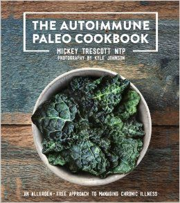 This is the new hardcover version of The Autoimmune Paleo cookbook. I <3 it! I plan on cooking through it because I can eat *everything* in this book. It's grain-free, egg-free, nut-free, dairy-free and nightshade free. Great way to eat if you're trying to reduce inflammation.