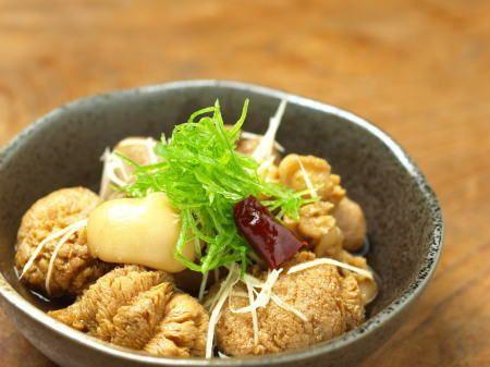 筋肉料理人 藤吉和男 魚料理と簡単レシピ | 鯛肝と魚卵の煮付け1