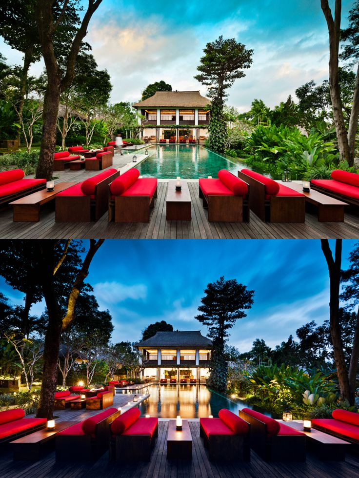 Day or night, Uma by COMO, Ubud is a beautiful place to relax in. #Bali