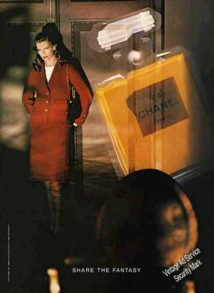 Chanel (1983) -http://www.vintageadbrowser.com/perfume-ads-1980s/2