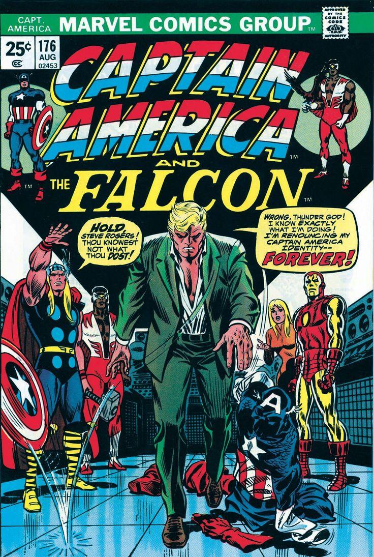 John persons comics for sale - For Sale Captain America Falcon 176 Marvel Comics Origin Avengers Sal Buscema Artwork Comic Book Emorys Memories