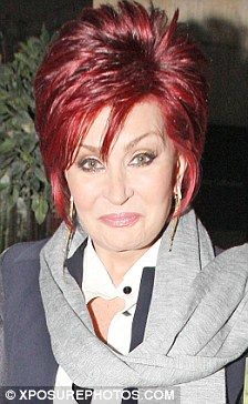 sharon osbourne hairstyle | Younger model: Sharon Osbourne's hairstyle is actually far younger ...