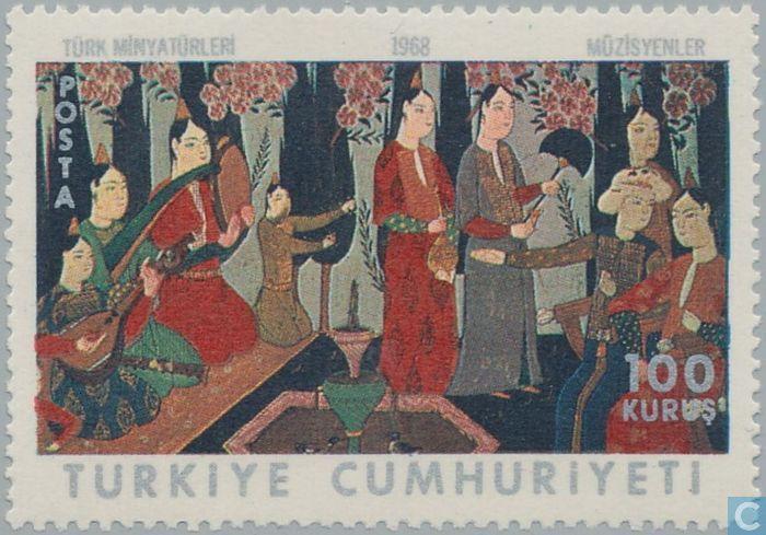 1968 Turkey - Turkish miniatures
