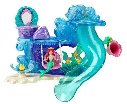 Disney Princess Ariel's Bath Time Playset By Mattel. $39