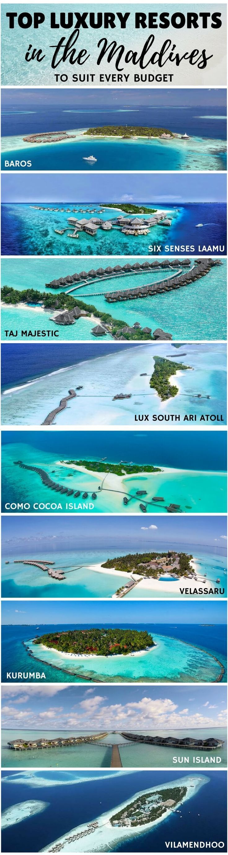 The Top Luxury Resorts in the Maldives. Maldives on a Budget. Travel in South Asia.